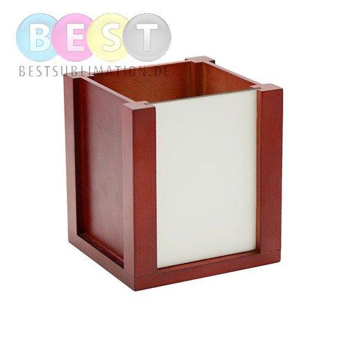 beh lter f r kugelschreiber stifte holz f r den sublimationsdruck. Black Bedroom Furniture Sets. Home Design Ideas