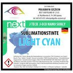 J-Eco Nano Sublimationstinte, LIGHT CYAN, J-Teck, 1000 ml