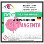 J-Eco Nano Sublimationstinte, LIGHT MAGENTA, J-Teck, 1000 ml