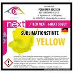 J-Next Sublimationstinte, YELLOW, J-Teck, 1000 ml