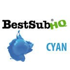 Sublimationstinte, CYAN, 1000 ml, Best Sub HQ