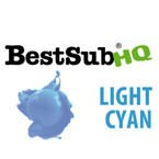 Sublimationstinte, LIGHT CYAN, 1000 ml, Best Sub HQ