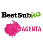 Sublimationstinte, MAGENTA, 1000 ml, Best Sub HQ