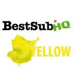 Sublimationstinte, YELLOW, 1000 ml, Best Sub HQ