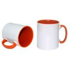 Tasse 300ml, FUNNY,  A+, Orange, für die Sublimation
