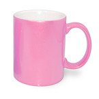 Tasse 330ml, Soft Color, Rosa, für die Sublimation