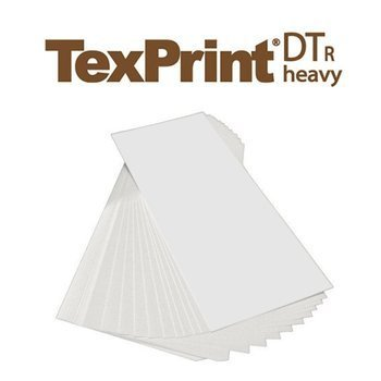 TexPrint-R Sublimationspapier, 10 cm x 24 cm, Ries (110 Blatt), für den Sublimationsdruck