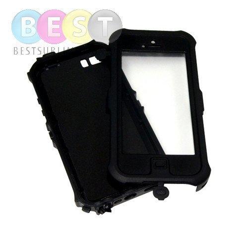 cover f r das iphone 5 5s wasserabweisend kunststoff gummi schwarz f r die sublimation. Black Bedroom Furniture Sets. Home Design Ideas